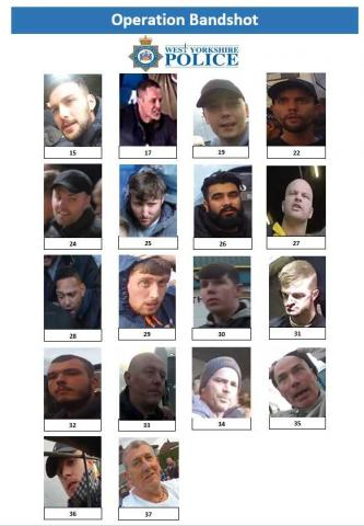 Do you recognise any of these suspects?