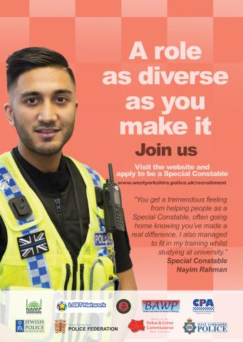 special constable recruitment poster