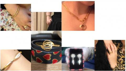 Stolen jewellery items