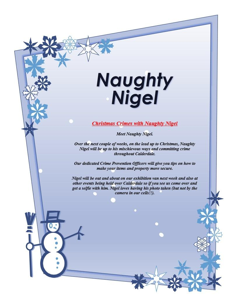 Who is Naughty Nigel