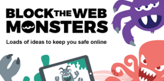 Block the web Monsters Image
