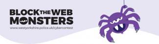 Block the Web Monsters Logo