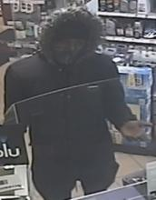 CCTV image of the suspect