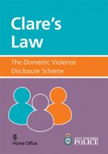 Claire's Law (front cover)