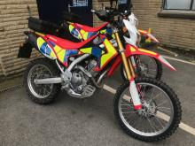 police off road bikes