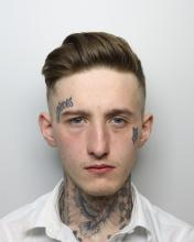 custody picture of Tyler Griffiths