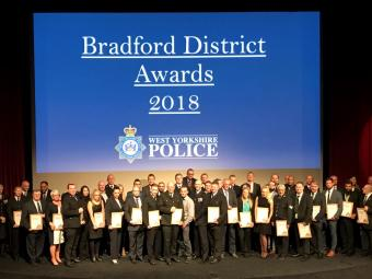 The Winners At The Bradford District Policing Awards