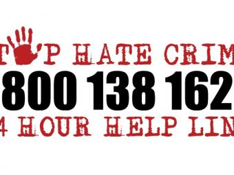 Stop Hate Uk telephone number image