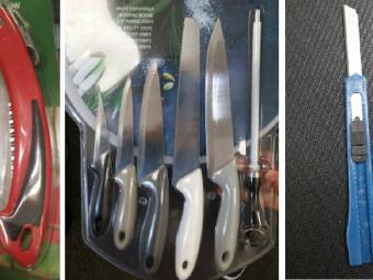 piture of the knives sold to underage cadets