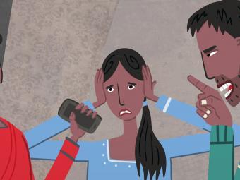Still from Domestic Servitude Animation