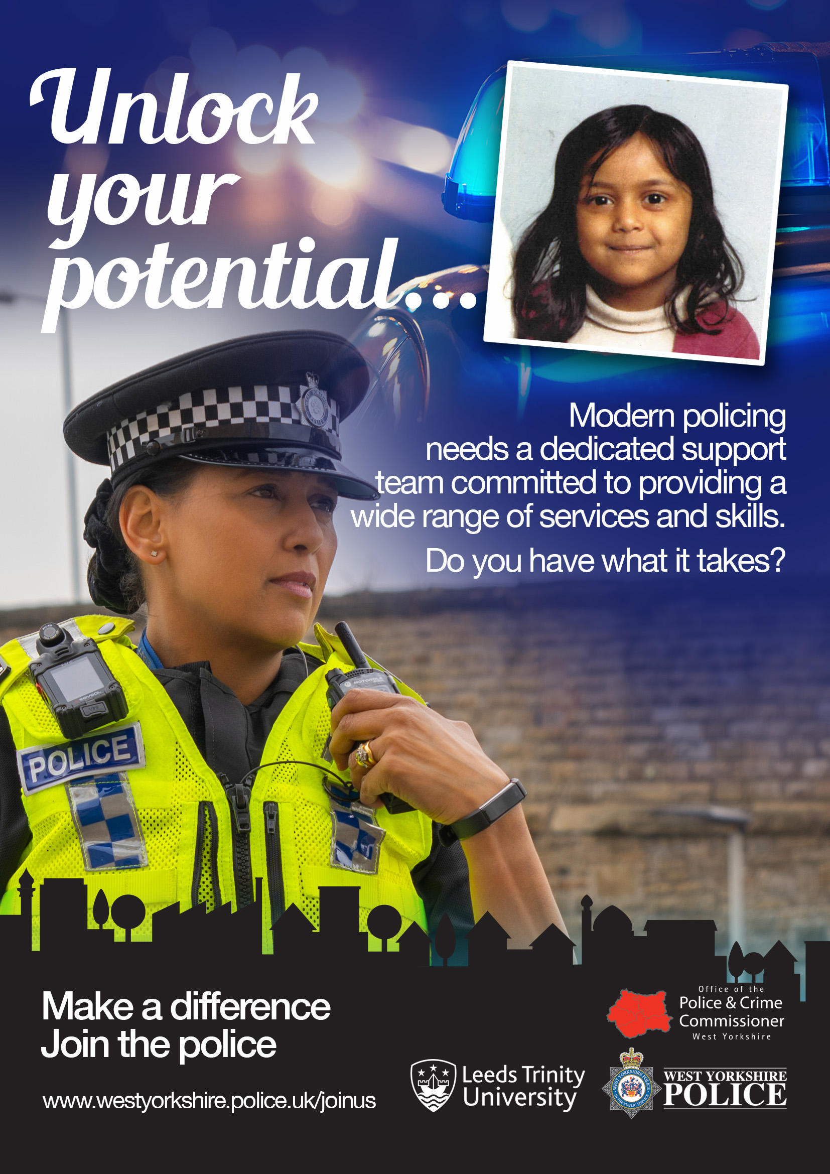 300 Police Officers to be Recruited by West Yorkshire Police